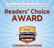 Readers' Choice Platinum Winner 2016