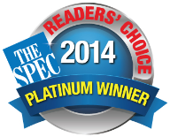 Readers' Choice Platinum Winner 2014