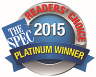 Readers' Choice Platinum Winner 2015